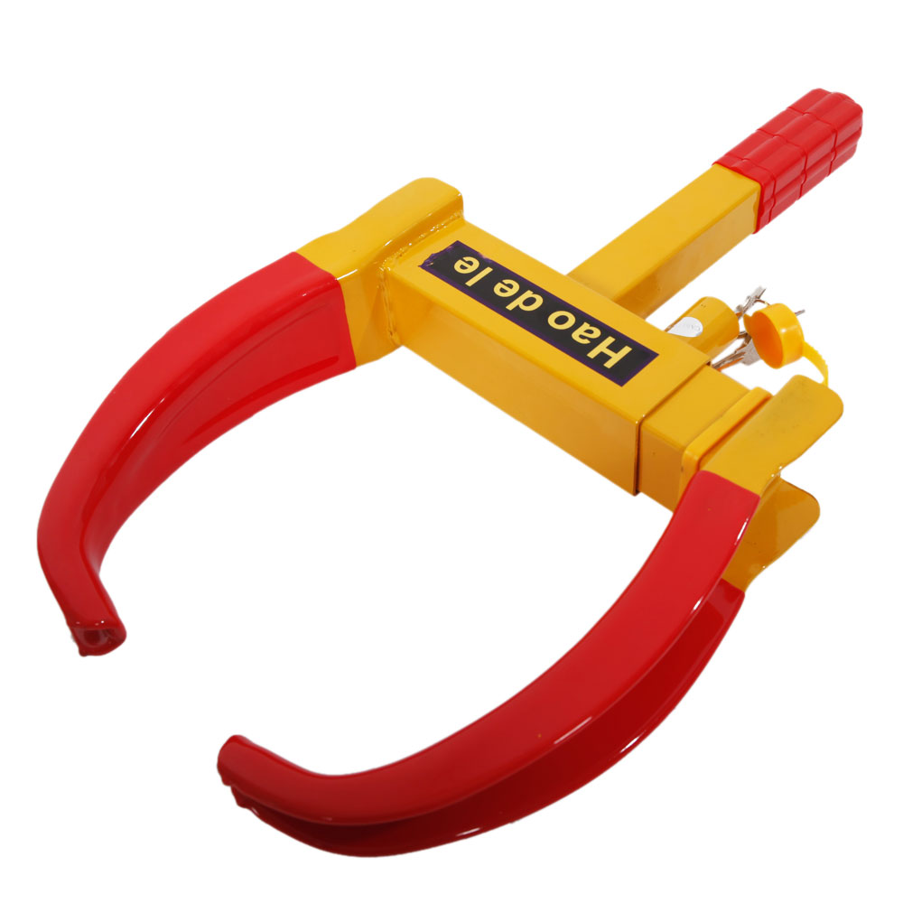 Car Truck Anti Theft Towing Wheel Lock Clamp Boot Tire