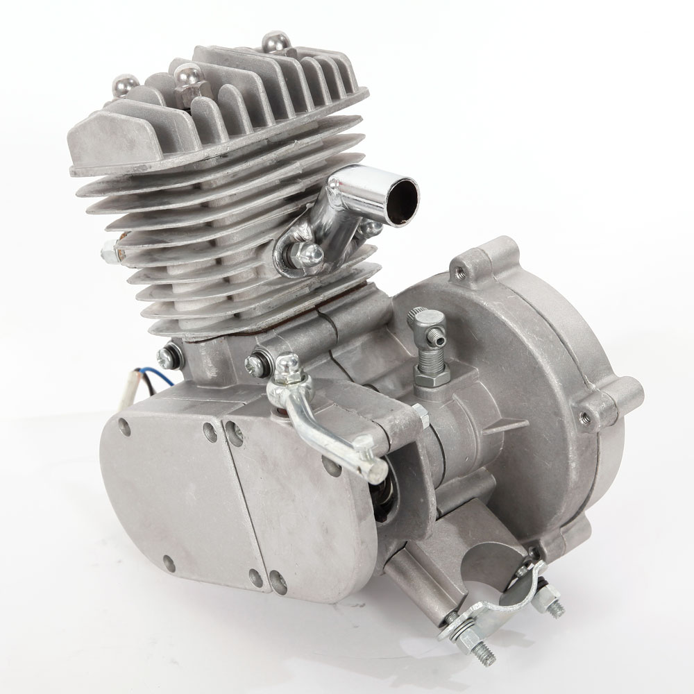 New 80cc 2 Stroke Silver Motor Engine Kit Gas For