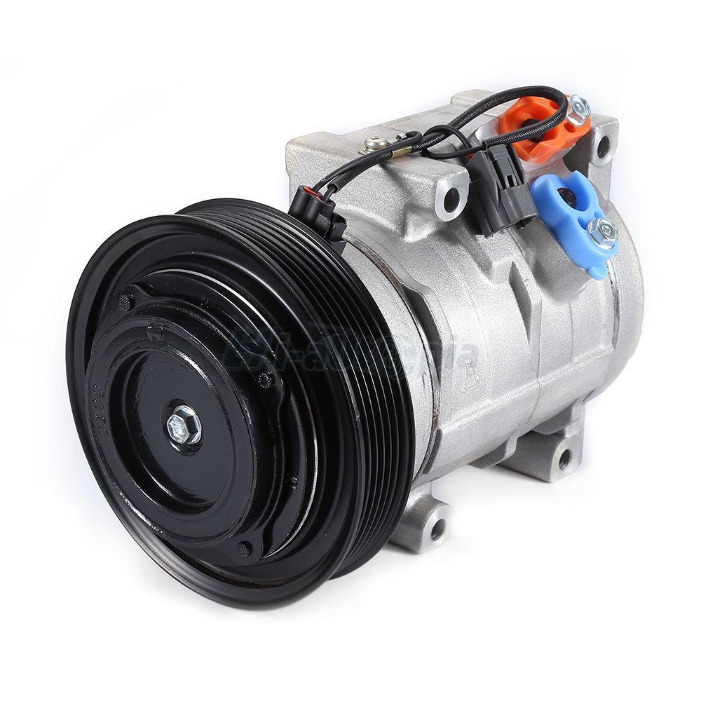 A/C Compressor And Clutch For Acura TL V6 2004-2008 Honda