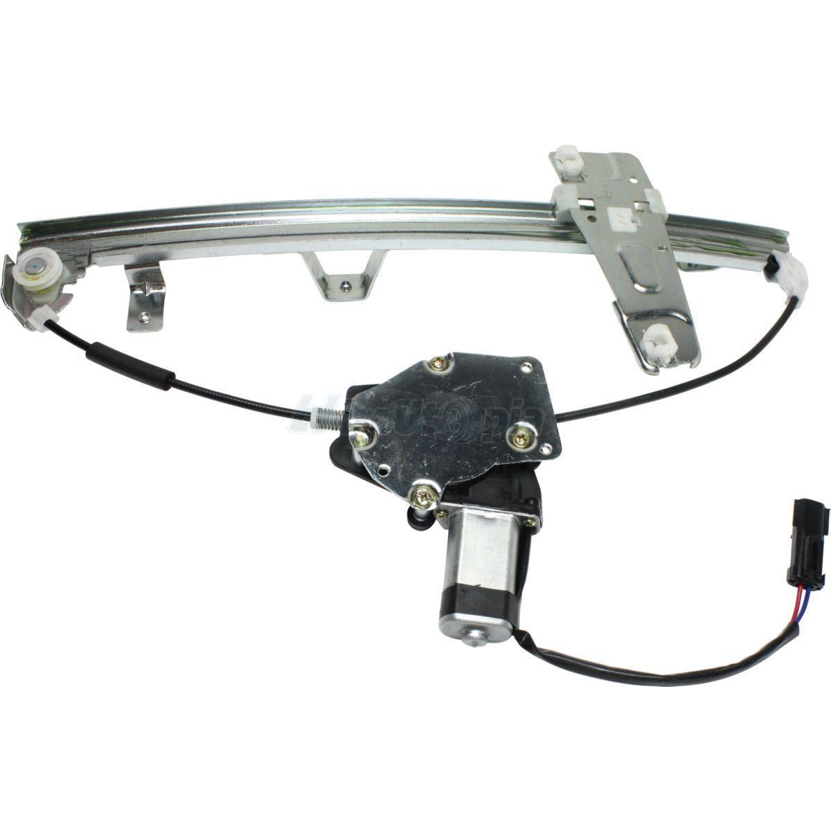 power window regulator w motor front driver side fits 00