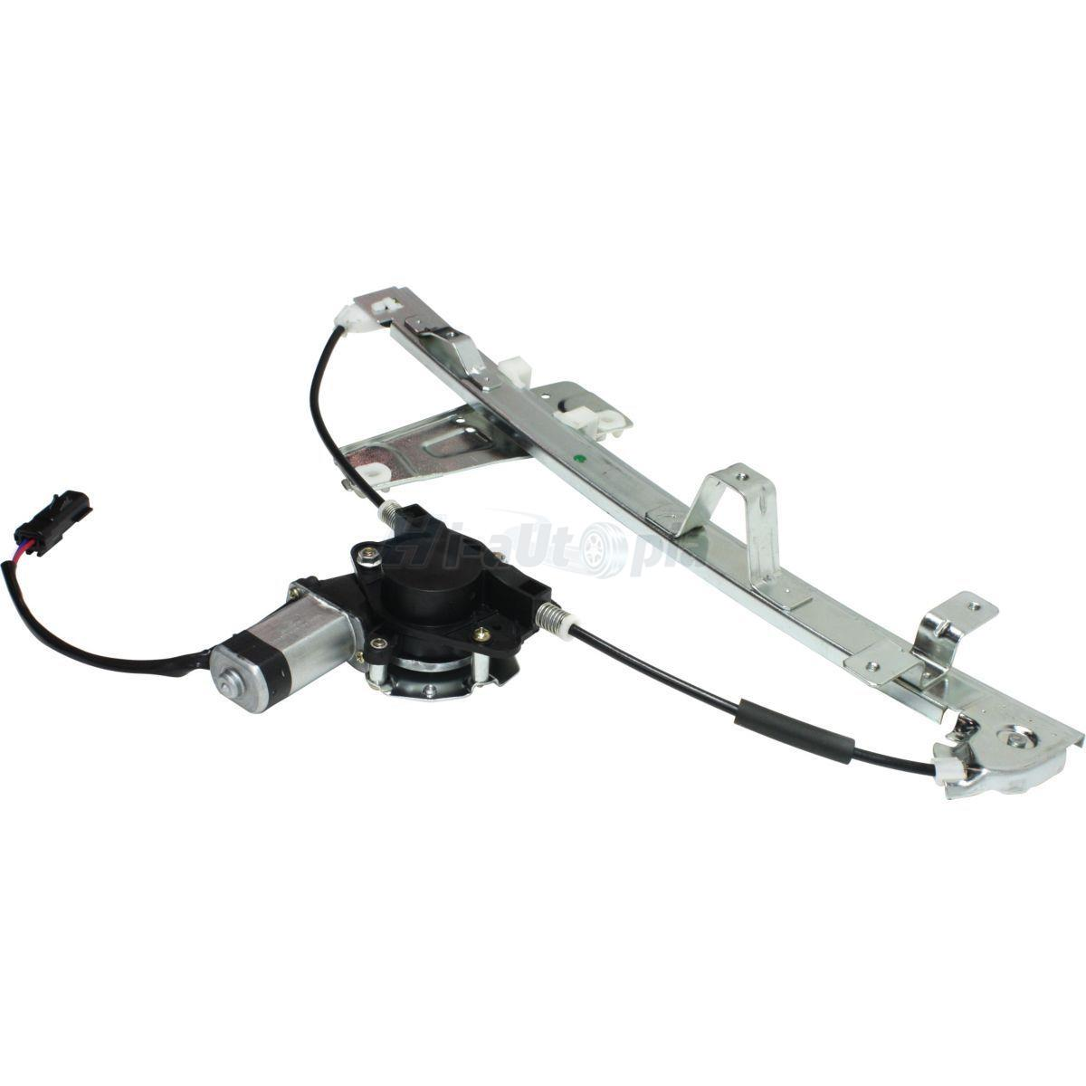Power window regulator w motor front driver side fits 00 for 2000 jeep grand cherokee window motor