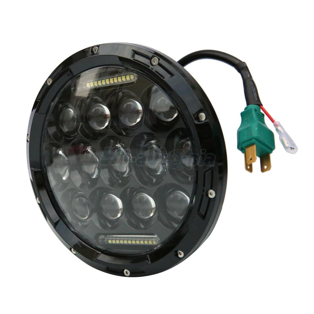 """7"""" INCH 75W LED Headlight Hi/Lo Beam DRL Projector for ..."""