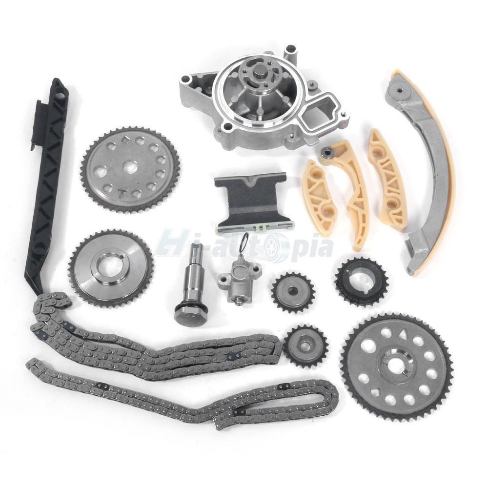 2002 Saturn Vue Timing Chain Repair Manual: Timing Chain Kit W/Water Pump Rail Fits 00-11 Saturn